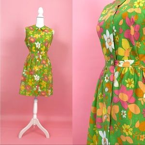 Vintage - 1960s Jumper and Skirt Matching Set